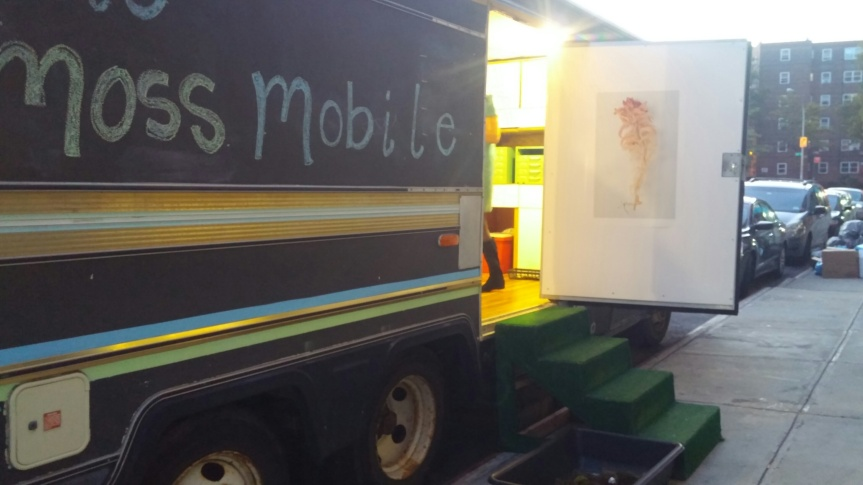 Mobile Field Station at the Bronx Art Space